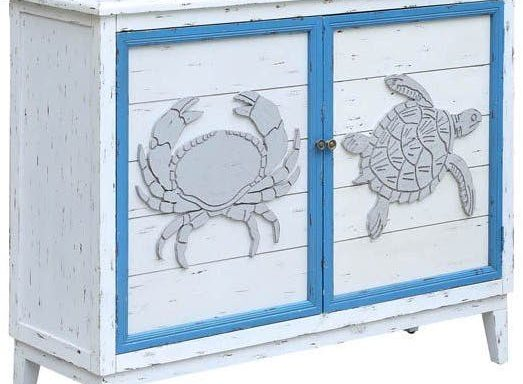 Crab and Turtle Cabinet