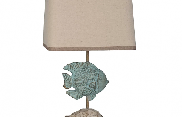 LPS Seafoam Fish Lamp