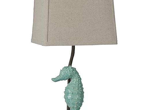 LPS Seafoam Seahorse Lamp