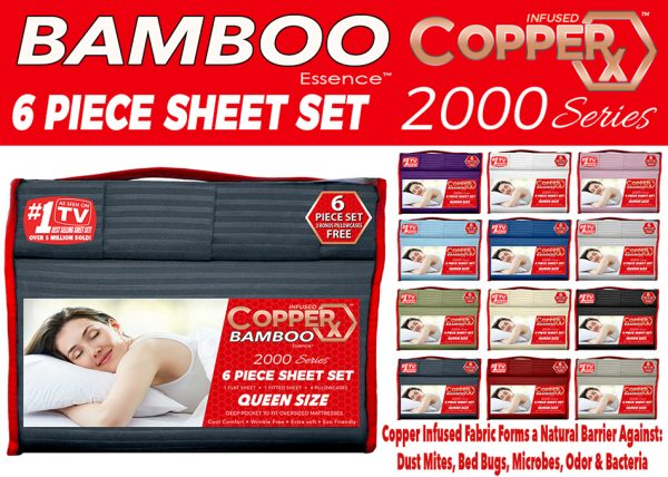 CopperX Bamboo Sheets